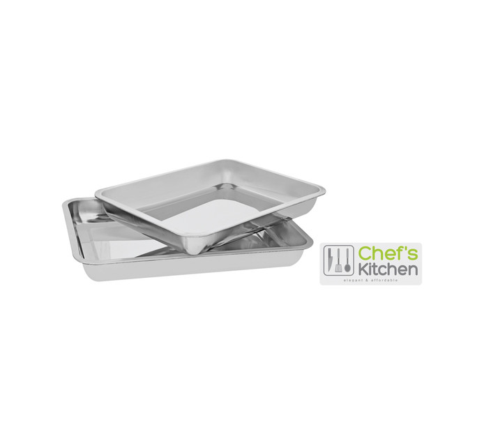 CHEF'S KITCHEN 2 Piece Roasting pan set