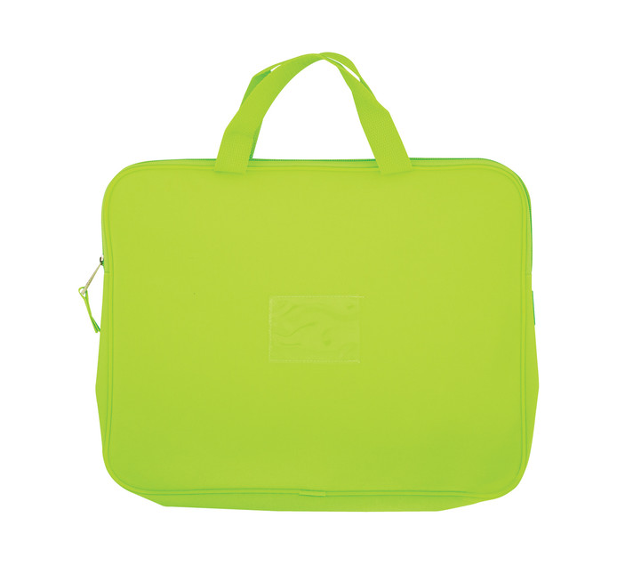 KENZEL A4 Book Bag With Handle Neon Green Each