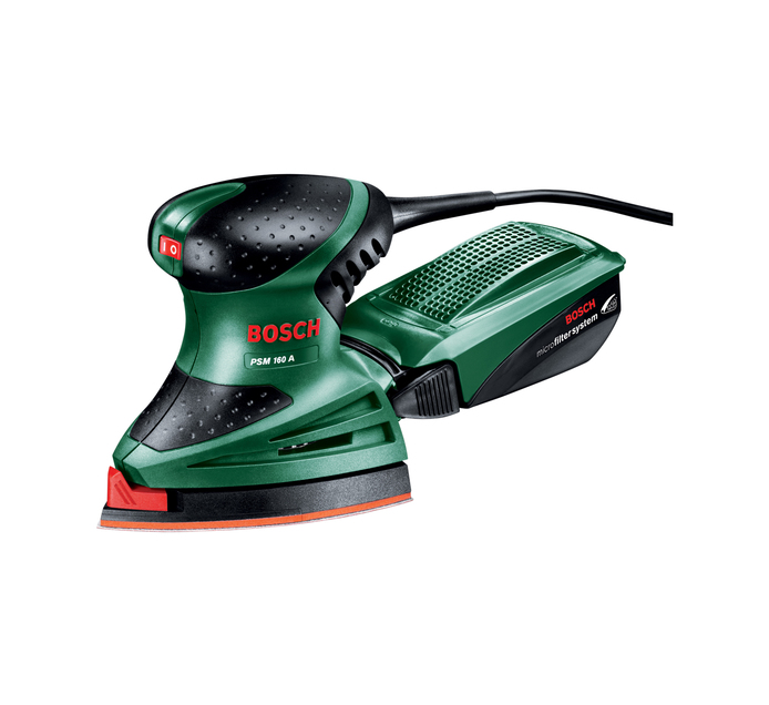 BOSCH 160 W Multi Sander Kit