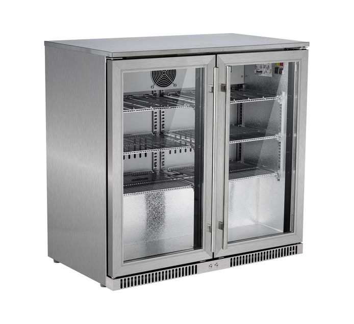 SNOMASTER 220 l Double Door Beverage Cooler