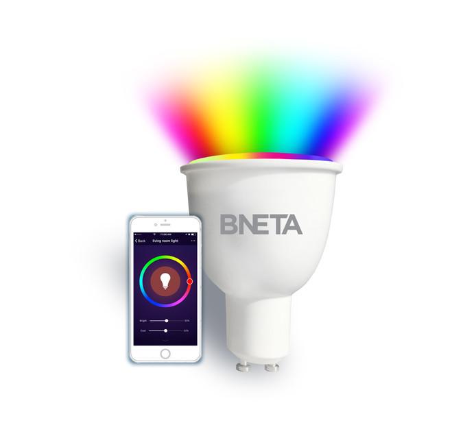 BNETA WIFI SMART BULB GU10 RGB