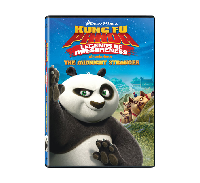 Legend Of Awesome The Midnight Stranger Dvd