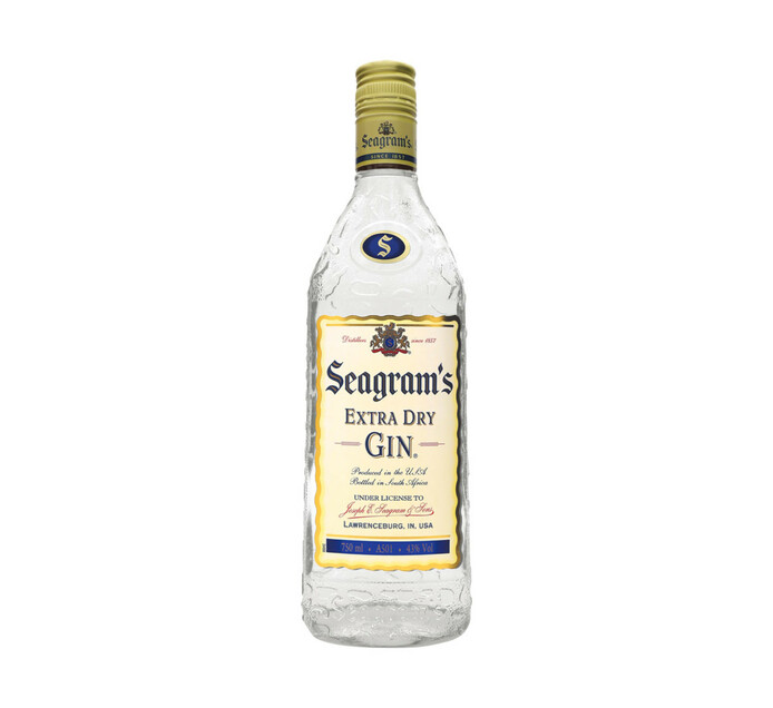 SEAGRAMS Extra Dry Gin (1 x 750ml)