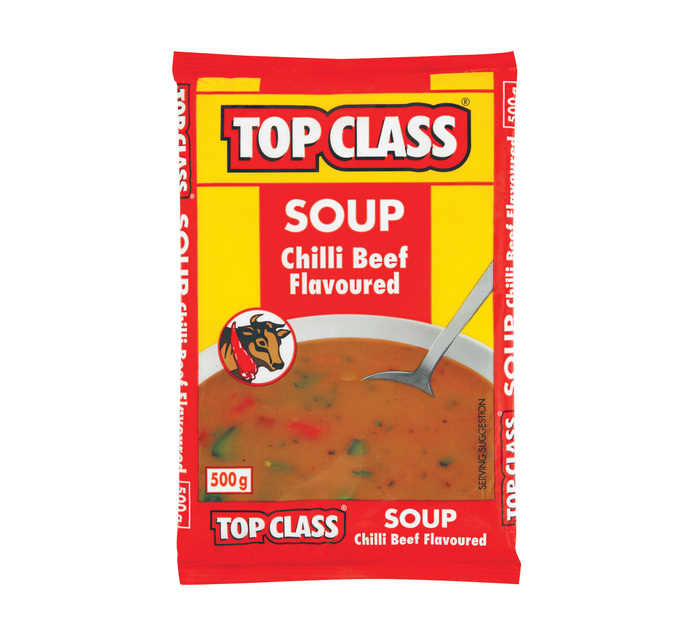 TOP CLASS Soup Chilli Beef (5 x 500g)