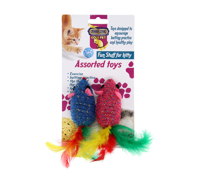 MARLTONS 1 x 25g Plush Cat Toy
