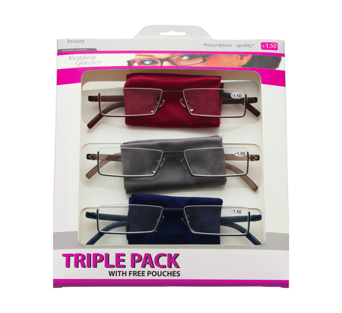 Instant Optics Triple Pack 4 - 1.50