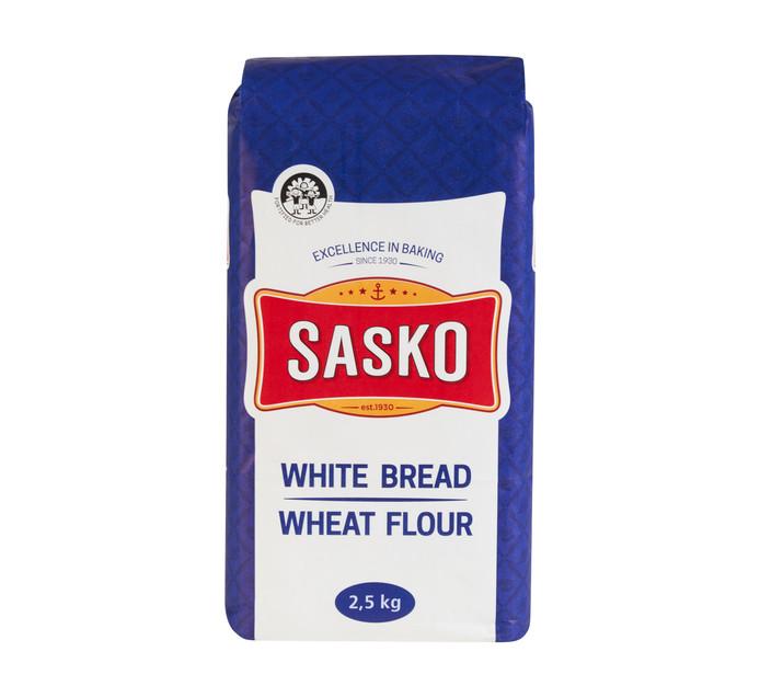 SASKO WHITE BREAD FLOUR 2.5KG