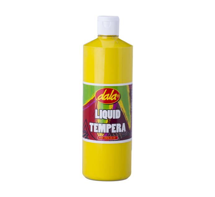 DALA 500ml Ready Mix Tempera Paint Yellow