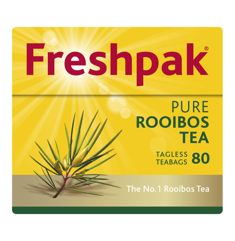 Freshpak Rooibos Tagless Teabags (24 x 80's)