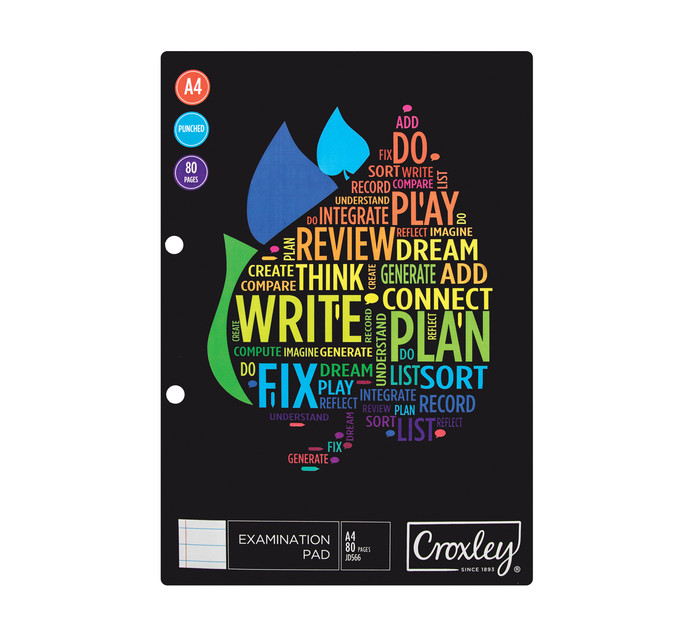 CROXLEY Exam Pad 5 Pack