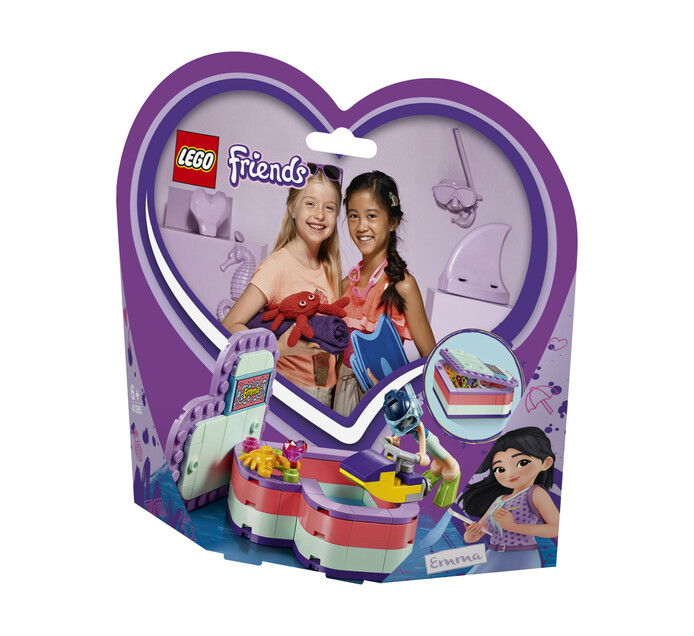 LEGO FRIENDS EMMA'S SUMMER HEART BOX